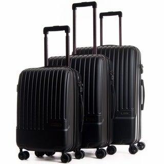 CalPak Davis Expandable 3-Piece Hardside Spinner Luggage Set