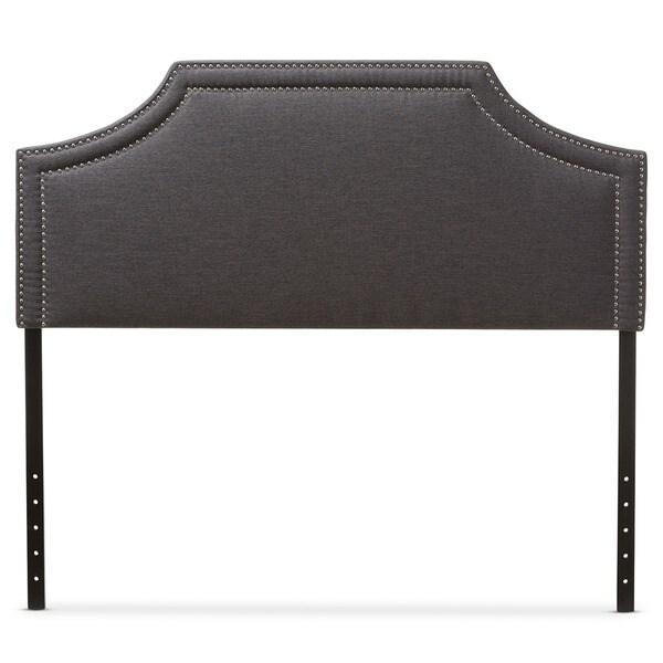 Baxton Studio Aison Modern Contemporary Dark Grey Fabric