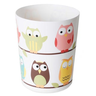 Colorful Owls Bathroom Accessory Collection (7 Options)