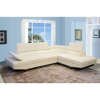 Torino Right Hand Facing Off-white Sectional