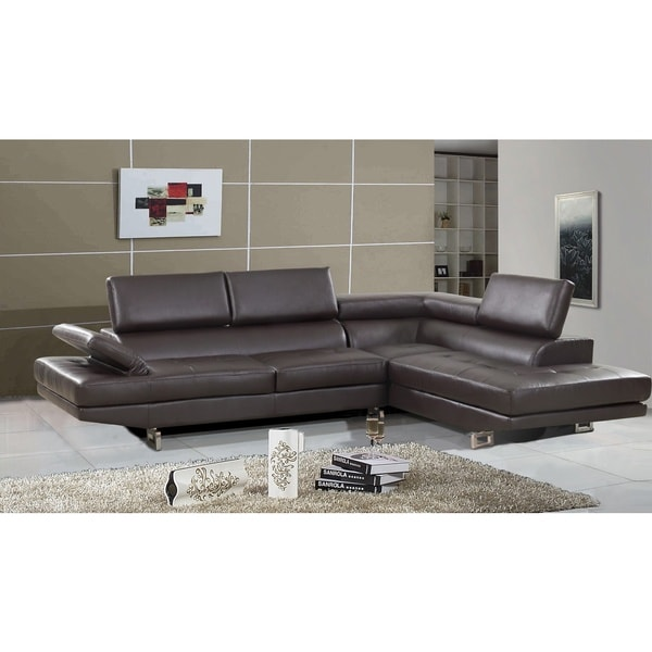 Torino Left Hand Facing Sectional Black