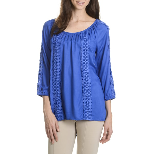 Allison Taylor Women's Crochet Blouse