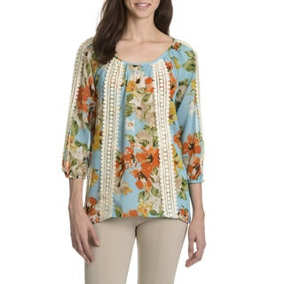 Sunny Leigh Women's Floral Printed Top