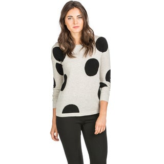 Ply Cashmere Women's Polka Dot Cashmere Sweater