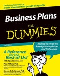 Business Plans For Dummies (Paperback)