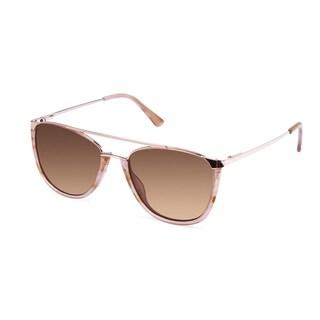 Cynthia Rowley Eyewear CR 6022S No. 76 Blush Aviator Metal Sunglasses