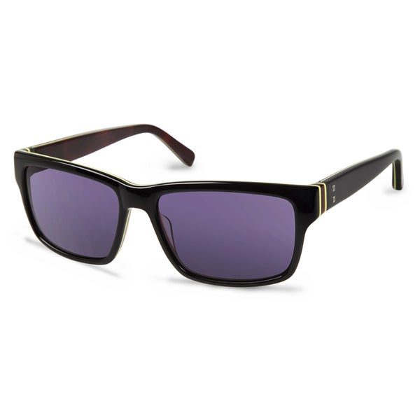 Cynthia Rowley Eyewear CR6013 No. 28 Black Round Plastic Sunglasses