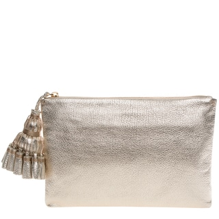 Anya Hindmarch Metallic Georgiana Clutch