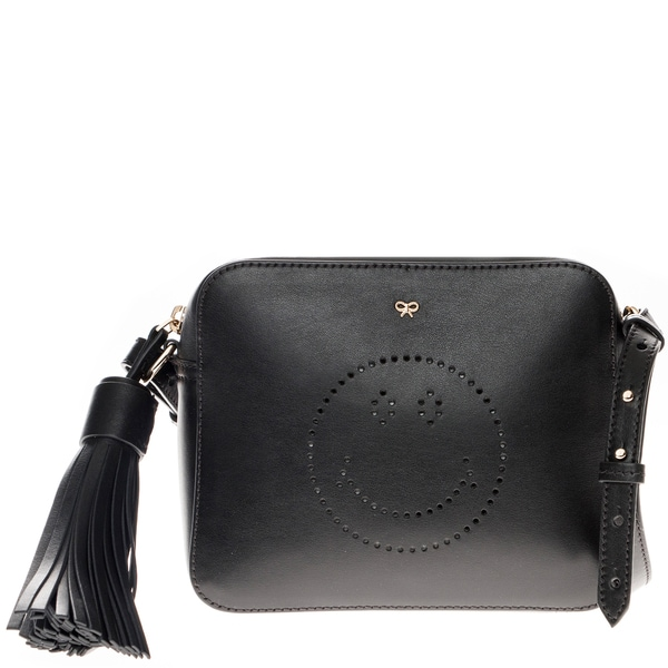 Anya Hindmarch Smiley Leather Crossbody