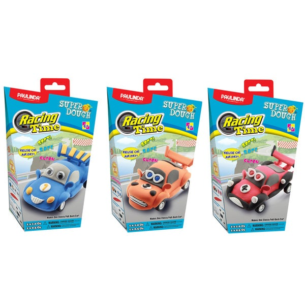 Paulinda Super Dough Racing Time DIY Modeling Bundle