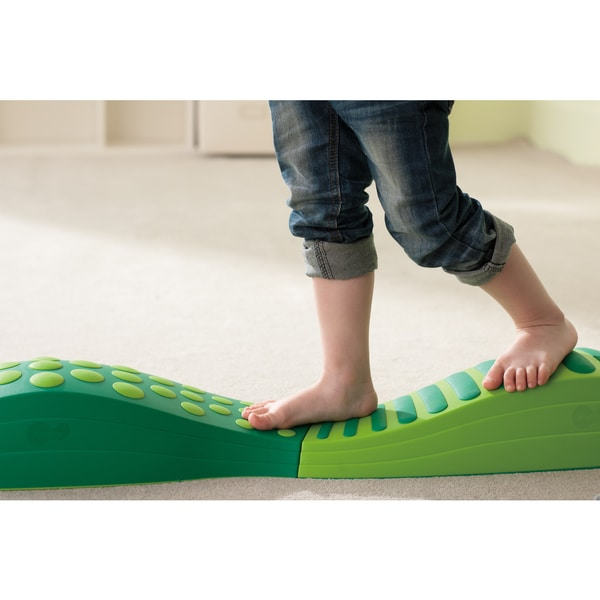 Wavy Tactile Path (Green)