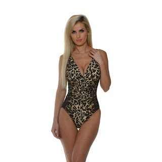 Miraclesuit Women's Chocolate Brown Skin City Sonatina One-Piece