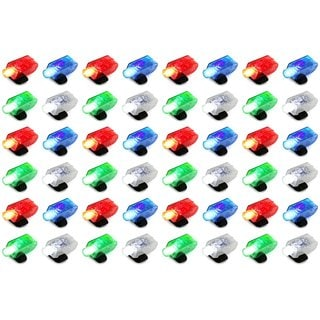 Velocity Toys 4-pack LED Light-up Party Favor Toy Finger Light (Set of 12)