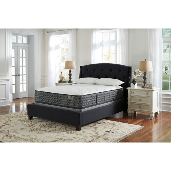 Sierra Sleep by Ashley Mount Rogers Limited Firm Queen-size Mattress