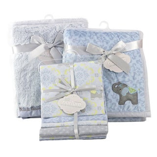 Nurture Imagination Elephant Jubilee 6-piece Blanket Nursery Bundle