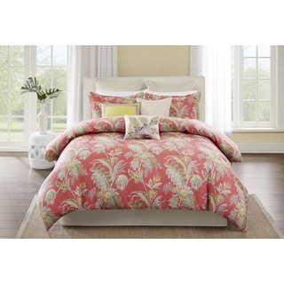 Echo Design Ishana Coral Cotton Comforter Set