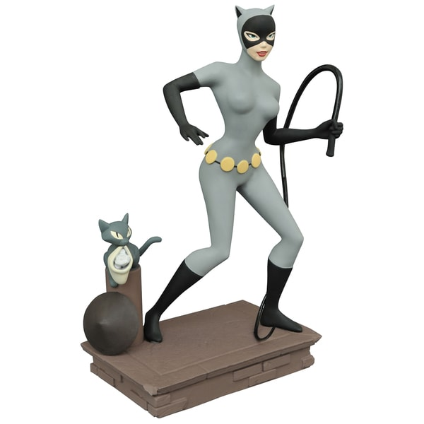 Diamond Select Toys Femme Fatales Batman The Animated Series Catwoman PVC Statue 17320203