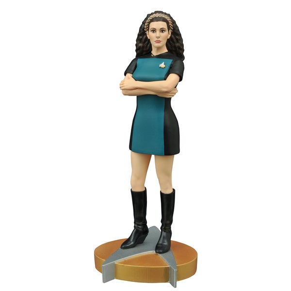 Diamond Select Toys Femme Fatales Star Trek The Next Generation Troi PVC Statue 17320211