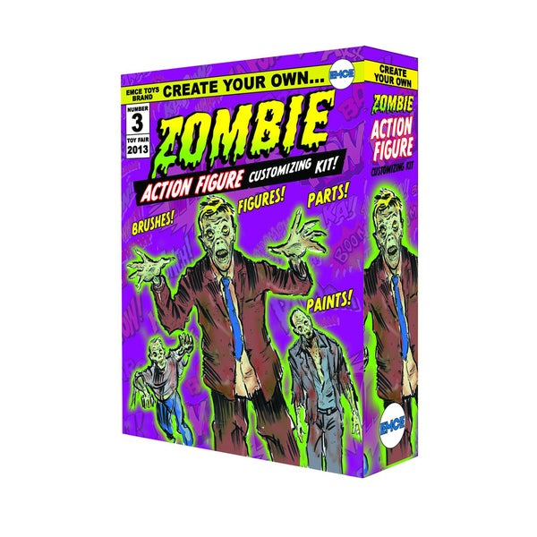 Diamond Select Toys Create Your Own Zombie Action Figure Kit 17320215