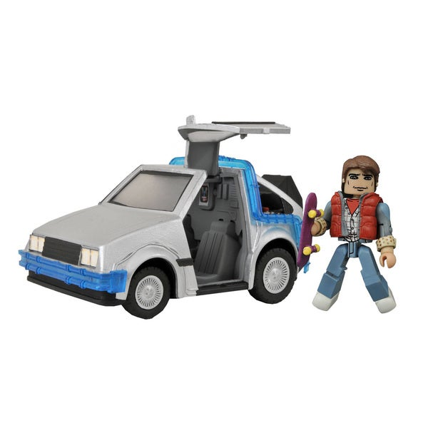 Diamond Select Toys Back To The Future Minimates Time Machine #1 17320218