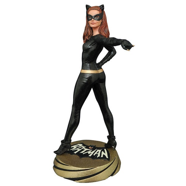 Diamond Select Toys Batman 1966 Premier Collection Catwoman Statue