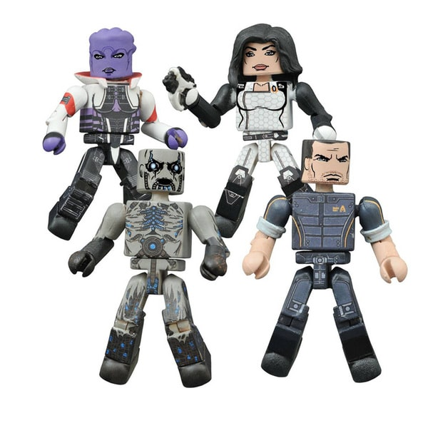 Diamond Select Toys Mass Effect Minimates Series 1 Box Set 17320236