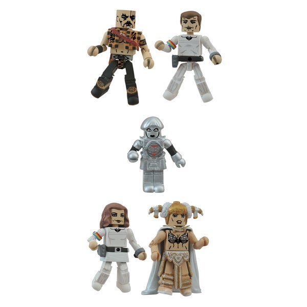Diamond Select Toys Buck Rogers Minimates Box Set 17320244