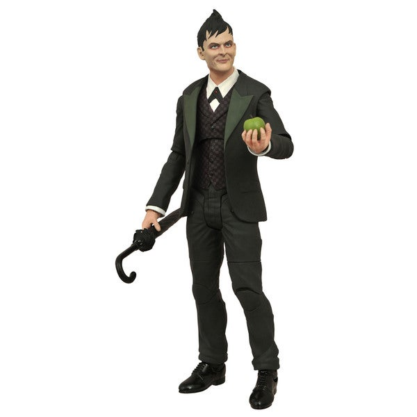 Diamond Select Toys Gotham TV Series Select Oswald Cobblepot Action Figure