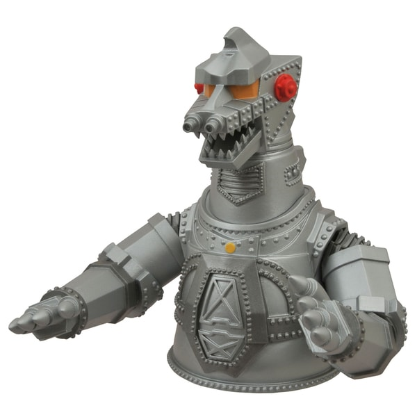 Diamond Select Toys Godzilla Mechagodzilla Vinyl Bust Bank 17320258