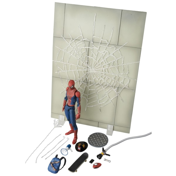 Diamond Select Toys Amazing Spider-Man 2 Spider-Man Maf-Ex Action Figure Dx Set
