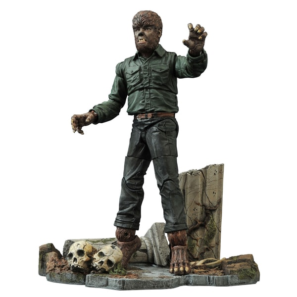 Diamond Select Toys Universal Select Wolfman Action Figure