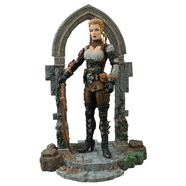Diamond Select Universal Monsters Monster Hunters Lucy Westenra Action Figure 17320271