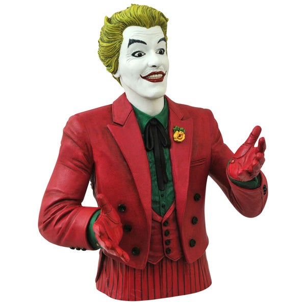 Diamond Select Toys Batman 1966 Joker Bust Bank 17320280