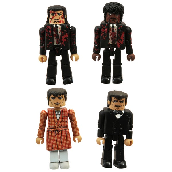 Diamond Select Toys Pulp Fiction 20th Anniversary Minimates Bonnie Box Set 17320281