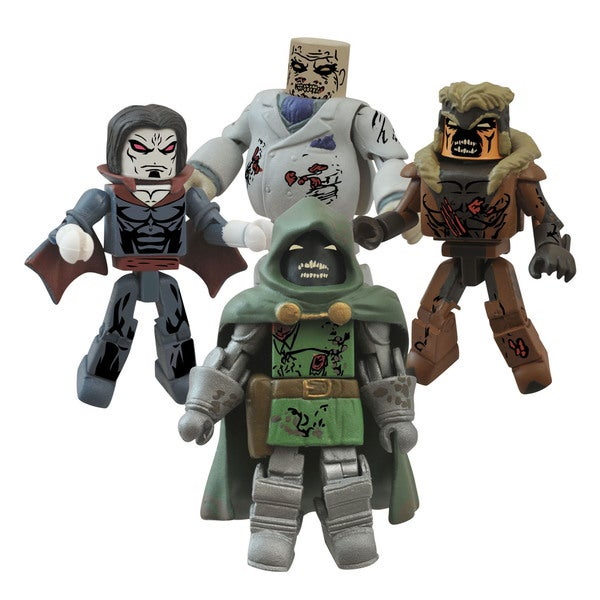 Diamond Select Toys Marvel Minimates Zombie Villains Box Set #2