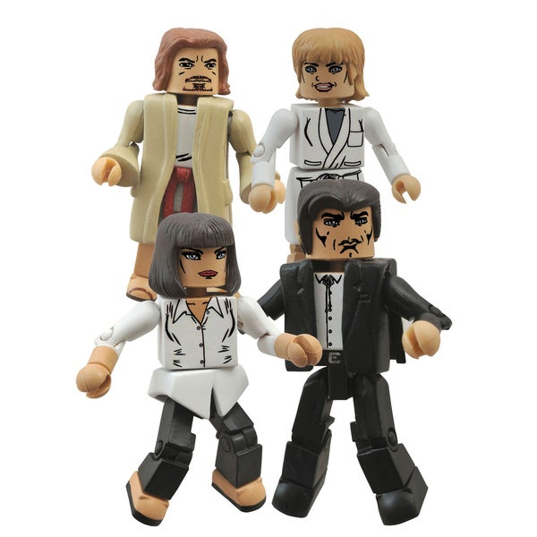 Diamond Select Toys Pulp Fiction 20th Ann Minimates Jackrabbit Box Set 17320316