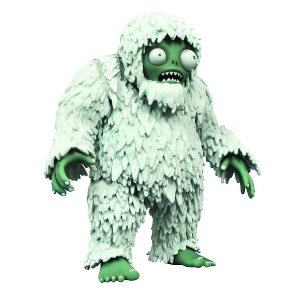 Diamond Select Toys Plants vs. Zombies Dlx Yeti Action Figure 17320321