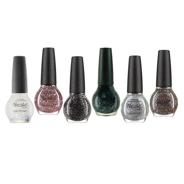 Nicole By OPI Glitter Nail Polish 6-piece Set