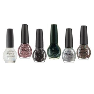 Nicole By OPI Glitter Nail Polish 6-piece Set