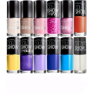 Maybelline Color Show 12-piece Nail Polish Set