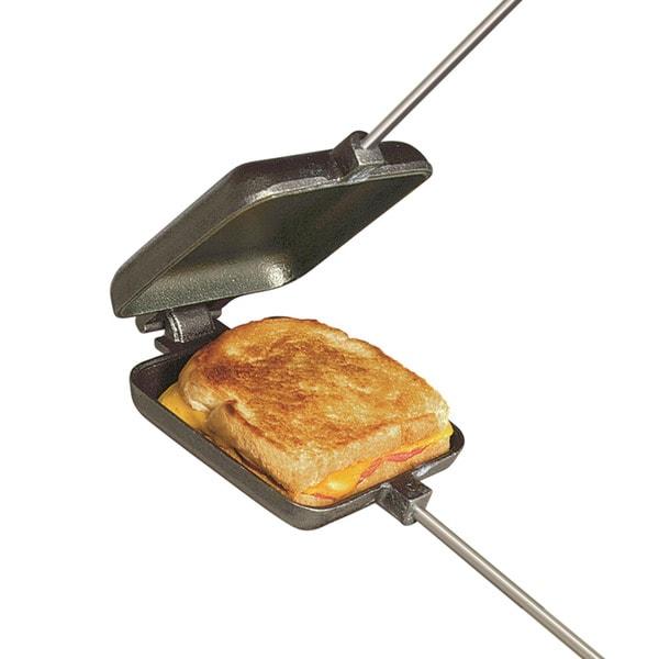 Square Pie Iron Cast Iron