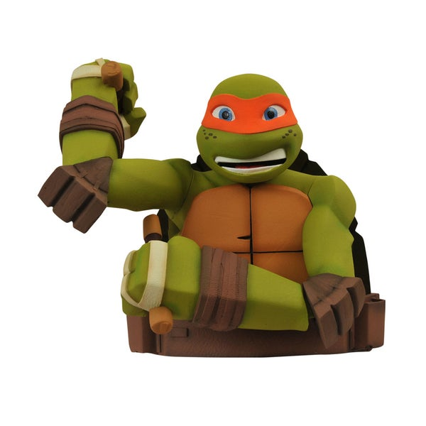 Diamond Select Toys Teenage Mutant Ninja Turtles: Michelangelo Bust Bank 17320426