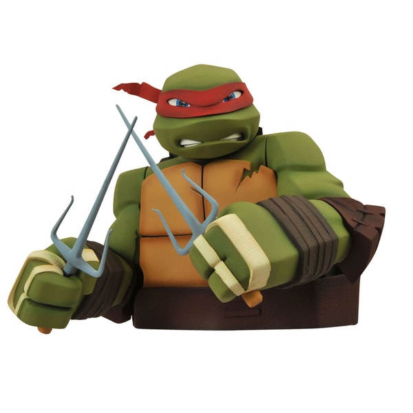 Diamond Select Toys Teenage Mutant Ninja Turtles: Raphael Bust Bank 17320427
