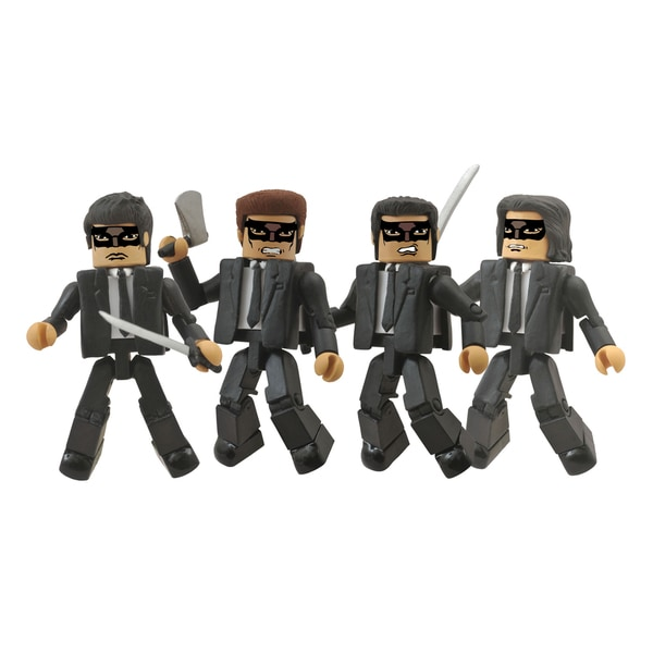 Diamond Select Toys Kill Bill Minimates Crazy 88 Box Set