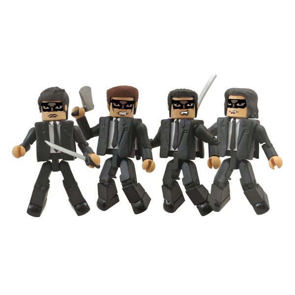 Diamond Select Toys Kill Bill Minimates Crazy 88 Box Set 17320434