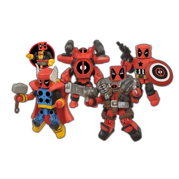 Diamond Select Toys Marvel Minimates Deadpool Assemble Box Set 17320449