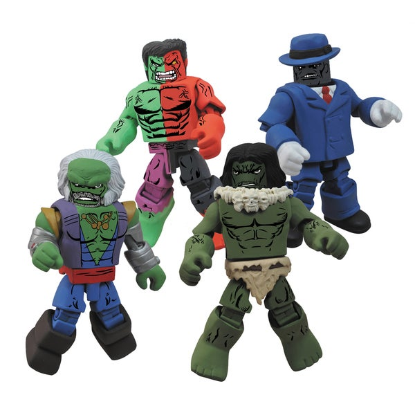 Diamond Select Toys Marvel Minimates Hulk Through The Ages Box Set