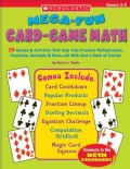 Mega-fun Card-Game Math: Grades 3-5 (Paperback)