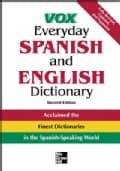 Vox Everyday Spanish And English Dictionary: English-Spanish/Spanish-English (Hardcover)