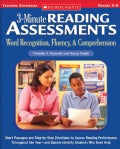3-minute Reading Assessments Word Recognition, Fluency, & Comprehension: Grades 5-8 (Paperback)